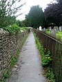 Footpath between the Church and Sedbergh School Playing Fields - geograph.org.uk - 1395976.jpg
