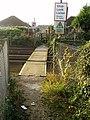 Footpath crossing West Coastway rail line - geograph.org.uk - 586166.jpg