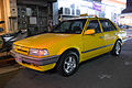Ford Laser (KE) Parked at Lane 11, Xindong Street 20141224.jpg