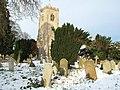 Forgotten graves in the winter snow - geograph.org.uk - 1627304.jpg