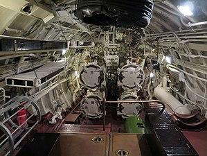 EML Lembit - Image: Forward Torpedo tubes of EML Lembit