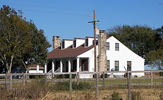 National Register of Historic Places listings in Grimes County, Texas - Image: Foster house 2008