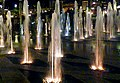 Fountains by night front the president palace - panoramio.jpg