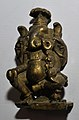 Four-armed Ganesha - Bronze - Circa 19th Century CE - ACCN 50-3534 - Government Museum - Mathura 2013-02-24 6595.JPG