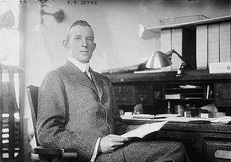 Francis Bowes Sayre Sr. - Sayre circa 1913