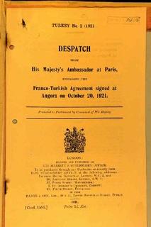 Treaty of Ankara (1921)