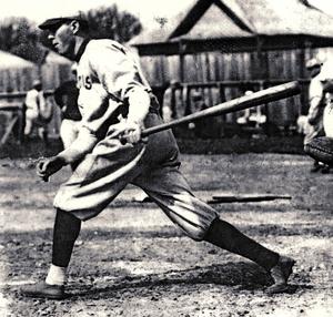 Frank Crossin - Crossin during spring training, c. 1914–15