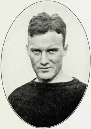 Frank Gargan - Gargan pictured in The Maroon 1917, Fordham yearbook