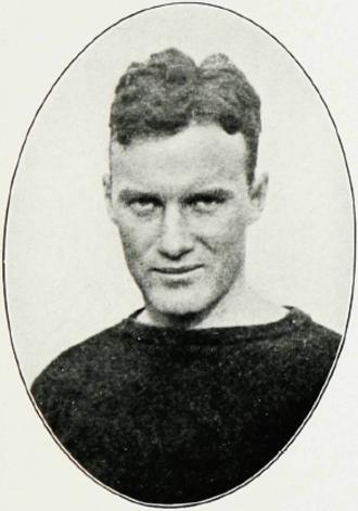 Frank Gargan - Gargan pictured in The Maroon 1917, Fordham yearbook