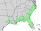 Fraxinus caroliniana range map 4.png