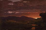 Frederic Edwin Church - Twilight, Short Arbiter 'Twixt Day and Night (Sunset).jpg