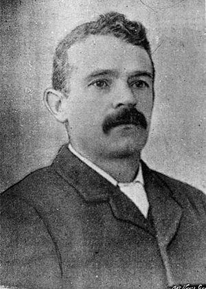 Frederick Pirani - Frederick Pirani in 1895