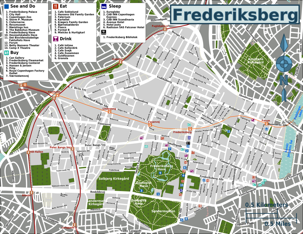 looking for small ladies in frederiksberg