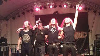 Freedom Call - Freedom Call performing in Germany on 11 September 2011