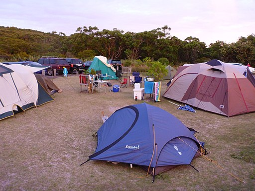Freemans Camping Ground - panoramio