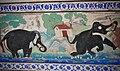 Fresco on a wall inside Badal Mahal, Kumbhalgarh fort, Udaipur 03.jpg