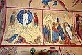 Frescos in St. Georges church in Qax, Azerbaijan 3.jpg