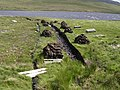 Fresh peat cuttings - geograph.org.uk - 711082.jpg