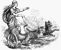 Freyja riding with her cats (1874).jpg