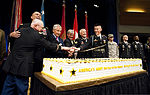 From left, U.S. Army Col. Arthur Wittich, the oldest Soldier serving in the Military District of Washington, Chief of Staff of the Army Gen. Ray Odierno, Defense Secretary Chuck Hagel, Secretary of the Army John 120613-A-EE013-715.jpg
