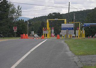 Coburn Gore-Woburn Border Crossing