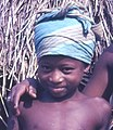 Fula (Peul) girl at a small settlement on the road to Bafodia, Sierra Leone (West Africa) (2034933660).jpg
