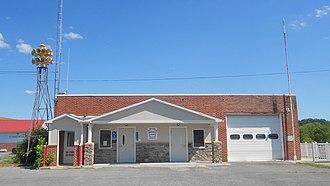 Belfast Township, Fulton County, Pennsylvania - Fulton Co District Court in Needmore