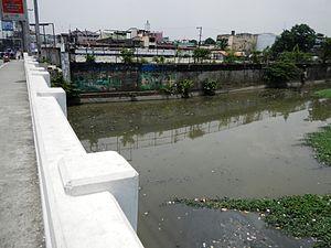 Tullahan River - Tullahan Bridge (Potrero, Malabon-Marulas, Valenzuela)