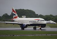 G-EUPF - A319 - British Airways