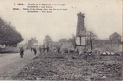 GAUTHIER 7 - 1914 ...Bataille de la Marne (du 6 au 12 sept) - BLESMES - Les Ruines.jpg