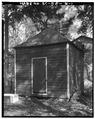 GENERAL VIEW, SOUTHEAST SIDE - The Rocks, Smokehouse, Eutaw Springs, Orangeburg County, SC HABS SC,38-EUTA.V,4B-1.tif