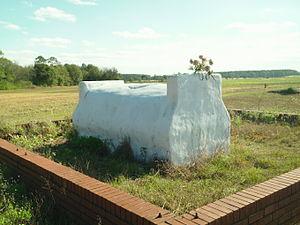 Grancer Harrison - The Grave of Grancer Harrison; November 2011.