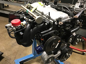 General Motors 122 engine - Image: GM 2.2 OHV I4 rear