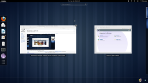 GNOME 3.6 with Shell Overview.png