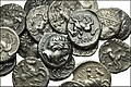 GREEK. Northern Greece. AR 1-5th tetradrachms of the Kings of Macedon, Philip II.jpg