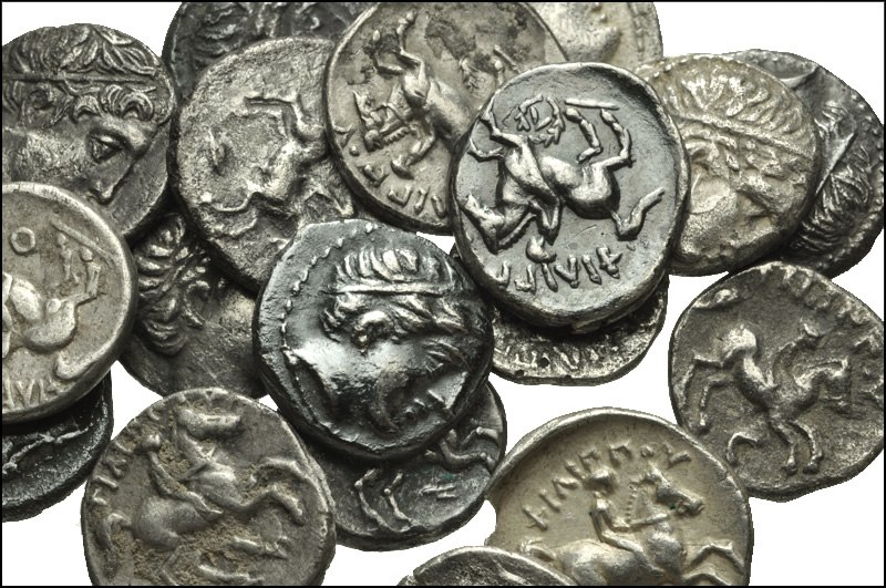 GREEK. Northern Greece. AR 1-5th tetradrachms of the Kings of Macedon, Philip II