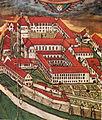 Gabriel Bucelin Kloster Weingarten von Südwest 1627.jpg
