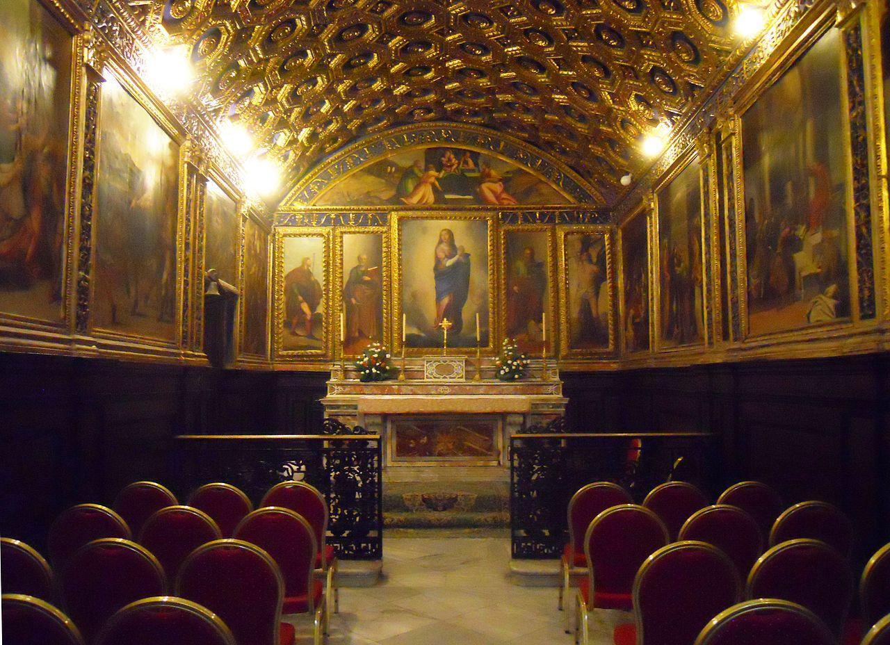 File gaeta cappella d 39 oro wikipedia for Interno help