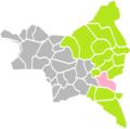 Gagny (Seine-Saint-Denis) dans son Arrondissement.png