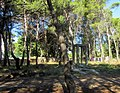 Gallows od ww2 italian concetration camp - panoramio.jpg