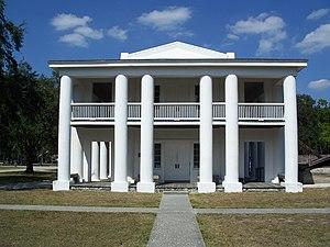 Ellenton, Florida - Gamble Plantation Mansion