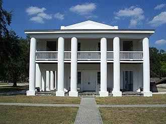 Gamble Plantation Historic State Park - Image: Gamble Plantation SP mansion 01