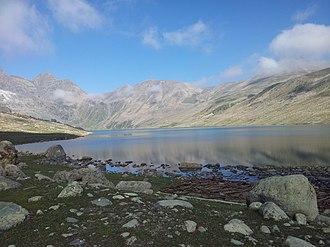 Gangabal Lake - Image: Gangabal 1