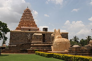 Gangaikonda Cholapuram - The Shiva temple in Gangaikonda Cholapuram