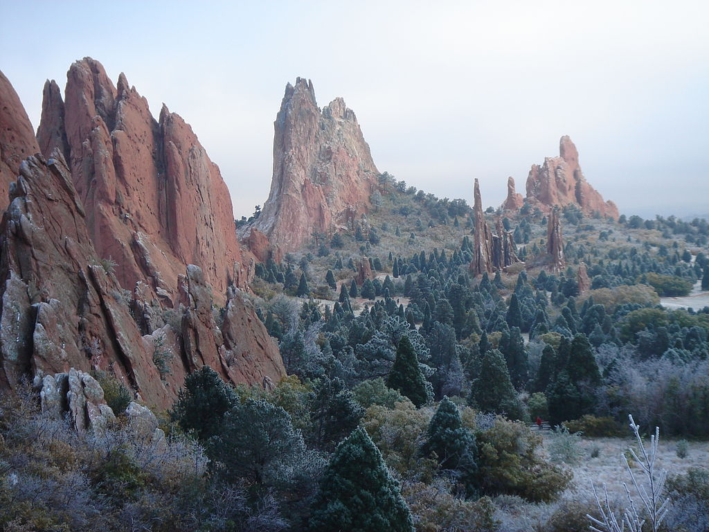 Garden of The Gods frosted