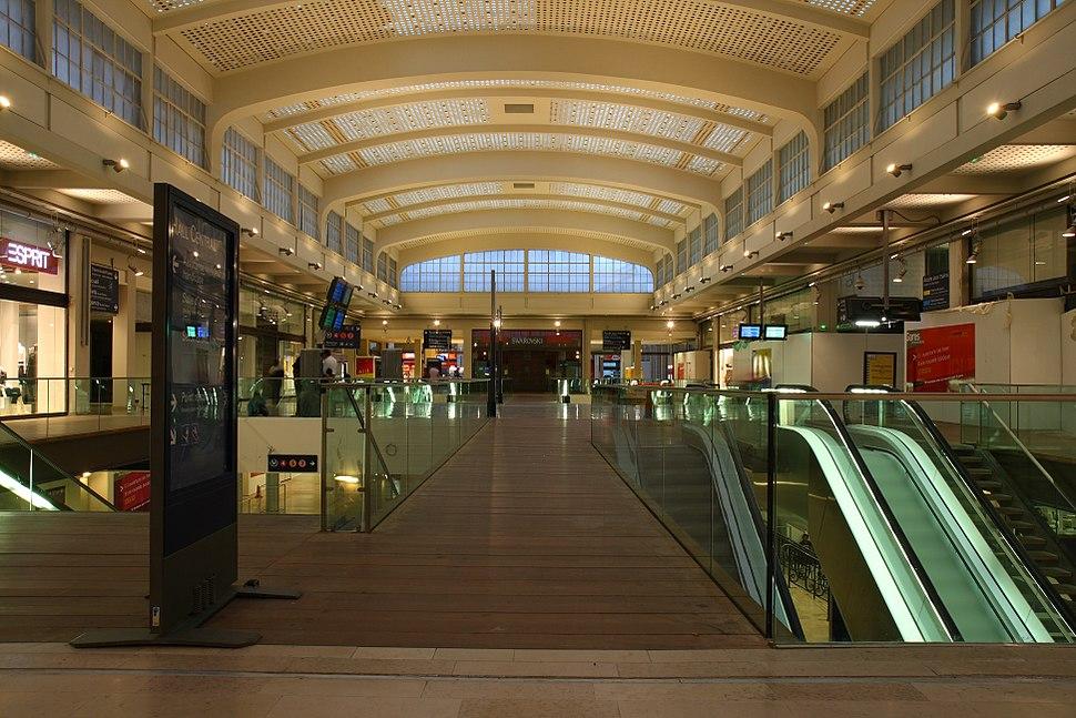 Gare Est nouvel hall