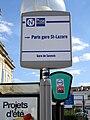 Gare de Sannois - Totems bus RATP Noctilien.jpg