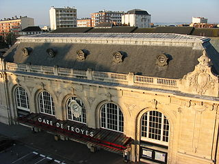 Gare de Troyes railway station in Troyes, France