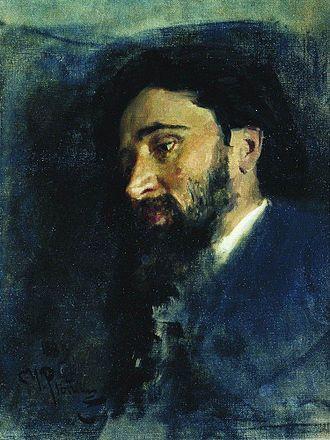 Vsevolod Garshin - Image: Garshin by Repin 1883