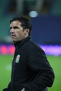Gary Speed Welsh footballer and manager